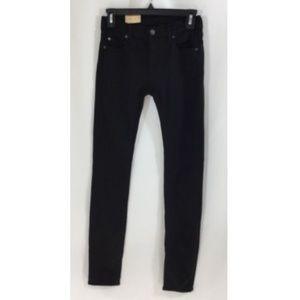 Denim and Supply Super Skinny Black Jeans